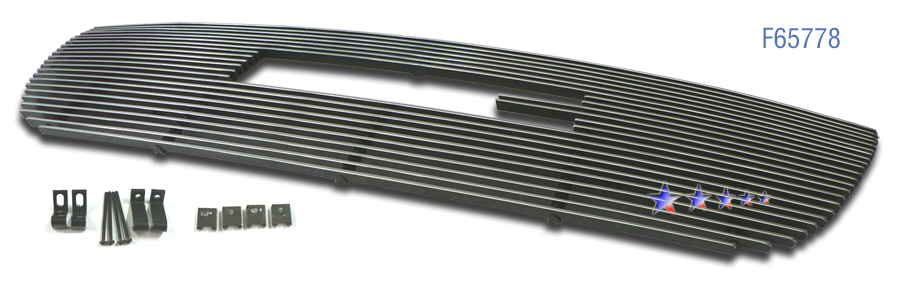 Gmc Yukon  2007-2012 Polished Main Upper Stainless Steel Billet Grille