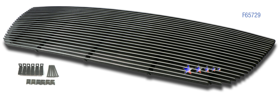 Gmc Yukon  2007-2012 Polished Main Upper Aluminum Billet Grille