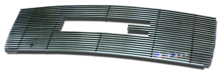 Gmc Sierra Denali 2007-2010 Polished Main Upper Stainless Steel Billet Grille
