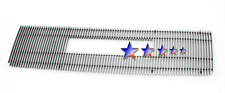 Gmc Sierra Denali 2007-2010 Polished Main Upper Aluminum Billet Grille
