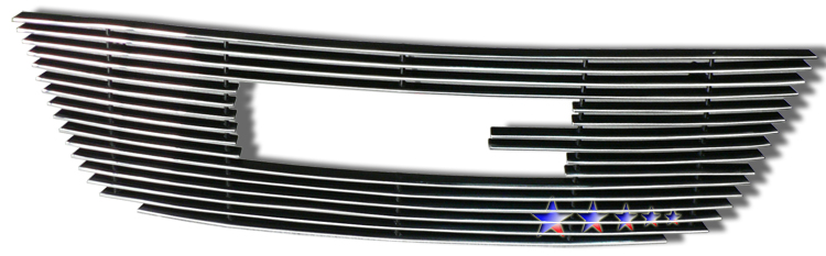 Gmc Acadia  2007-2012 Polished Main Upper Aluminum Billet Grille