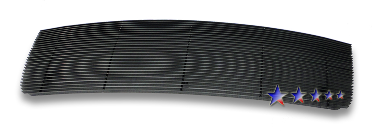 Gmc Sierra 3500 Hd 2007-2010 Black Powder Coated Main Upper Black Aluminum Billet Grille