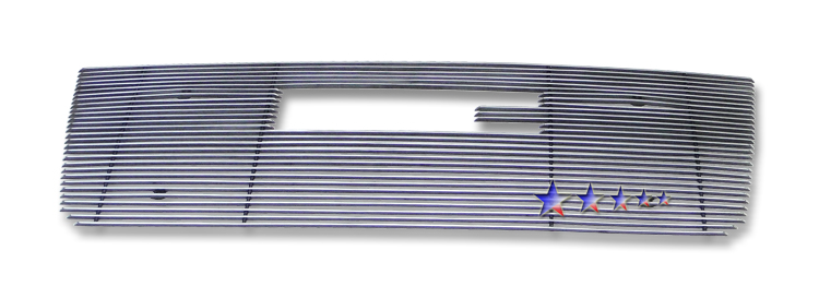Gmc Yukon Hybrid 2008-2012 Polished Main Upper Aluminum Billet Grille