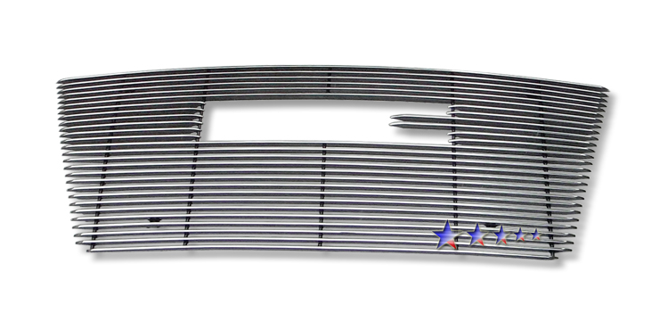 Gmc Terrain  2010-2012 Polished Main Upper Aluminum Billet Grille