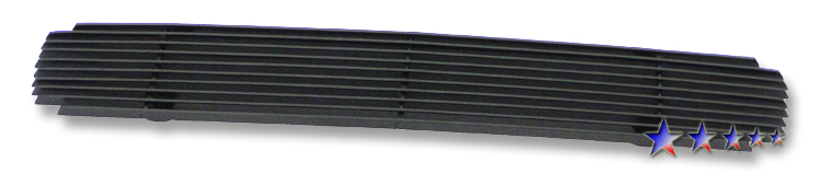 Gmc Sierra 3500 Hd 2011-2012 Black Powder Coated Lower Bumper Black Aluminum Billet Grille