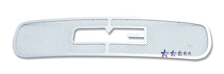 Gmc Sierra 1500 1999-2000 Chrome Main Upper Mesh Grille
