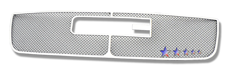 Gmc Sierra 3500 2007-2007 Chrome Main Upper Mesh Grille