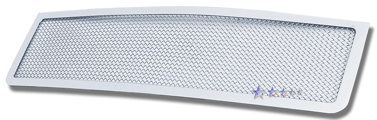 Gmc Sierra Denali 2007-2010 Chrome Main Upper Mesh Grille