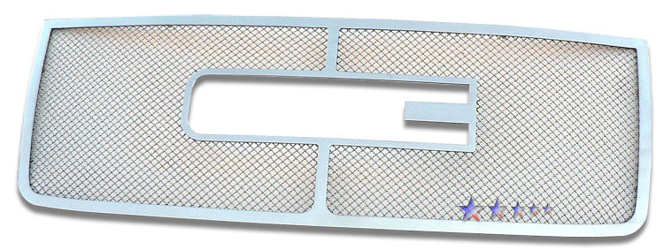 Gmc Sierra 3500 Hd 2007-2010 Chrome Main Upper Mesh Grille