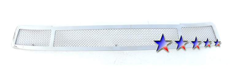 Gmc Sierra  2003-2006 Chrome Lower Bumper Mesh Grille
