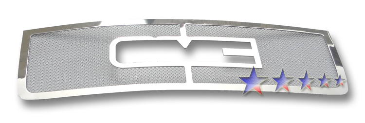 Gmc Sierra 3500 Hd 2011-2012 Chrome Main Upper Mesh Grille