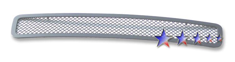 Gmc Sierra 3500 Hd 2011-2012 Black Powder Coated Lower Bumper Black Wire Mesh Grille