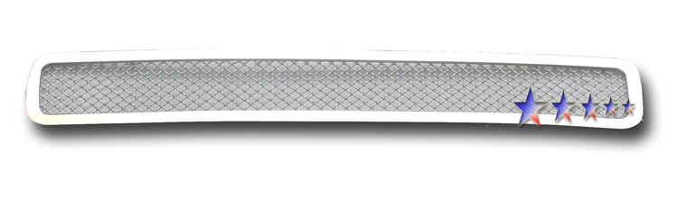 Gmc Sierra 3500 Hd 2011-2012 Chrome Lower Bumper Mesh Grille