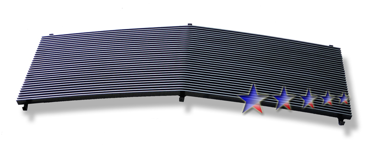 Gmc Full Size Pickup  1994-1998 Polished Main Upper Aluminum Billet Grille
