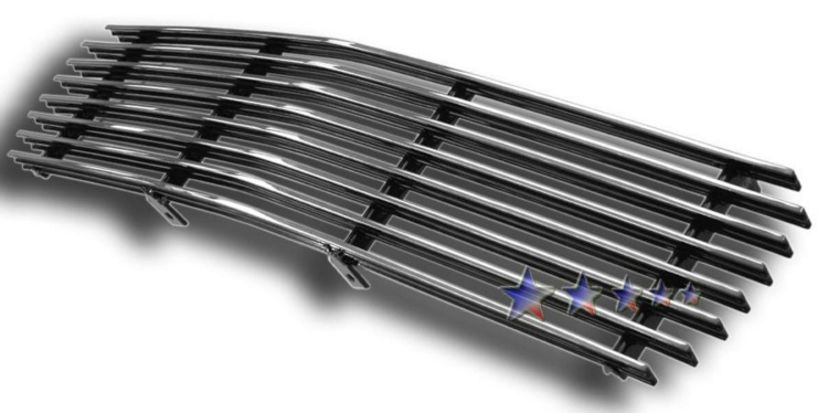Gmc Jimmy  1998-2003 Polished Main Upper Aluminum Billet Grille