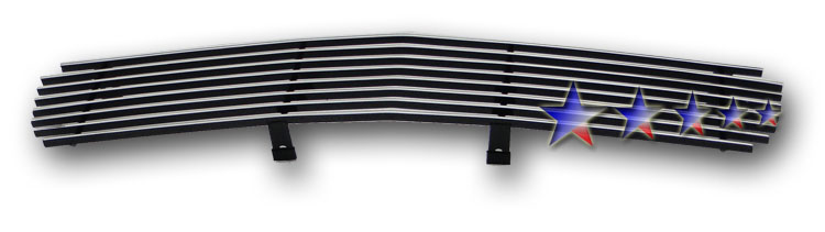 Gmc S-15 Pickup  1998-2003 Polished Main Upper Stainless Steel Billet Grille