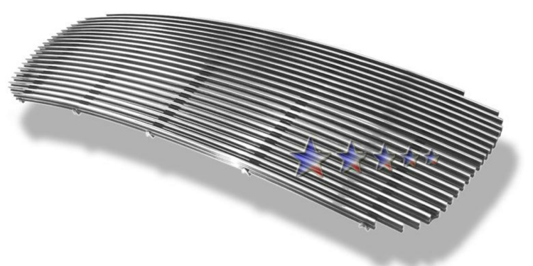 Gmc Denali 98-00 Polished Aluminum Main Front Grill