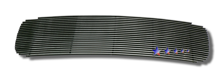 Gmc Yukon Denali 1998-2000 Polished Main Upper Stainless Steel Billet Grille