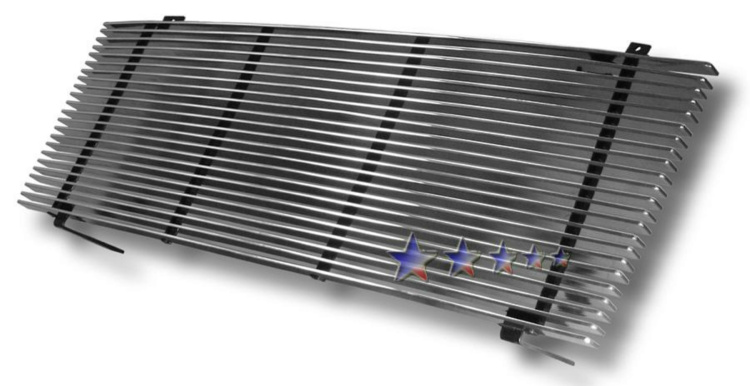 Gmc Envoy  2001-2009 Polished Main Upper Aluminum Billet Grille
