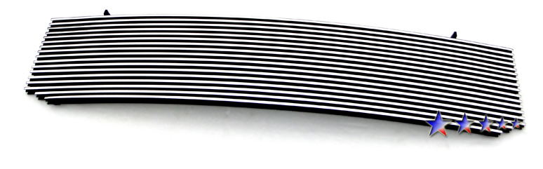 Gmc Sierra  2001-2002 Polished Main Upper Aluminum Billet Grille