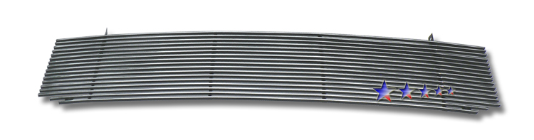 2001-2006 Gmc Denali  Polished Stainless Steel Billet Grille - Main Upper
