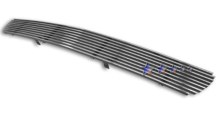2001-2006 Gmc Denali Xl Polished Aluminum Billet Grille - Lower Bumper