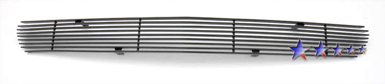 1999-2006 Gmc Denali  Black Powder Coated Black Aluminum Billet Grille - Lower Bumper