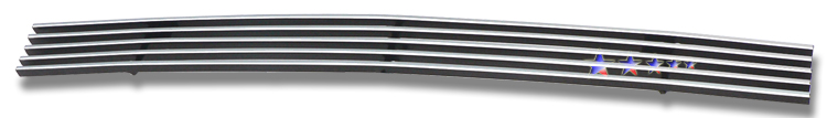 Gmc Sierra 3500 2003-2006 Polished Top Bumper Stainless Steel Billet Grille
