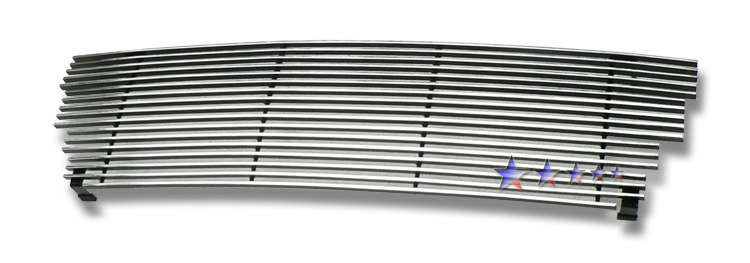 Gmc Canyon  2004-2012 Polished Main Upper Stainless Steel Billet Grille