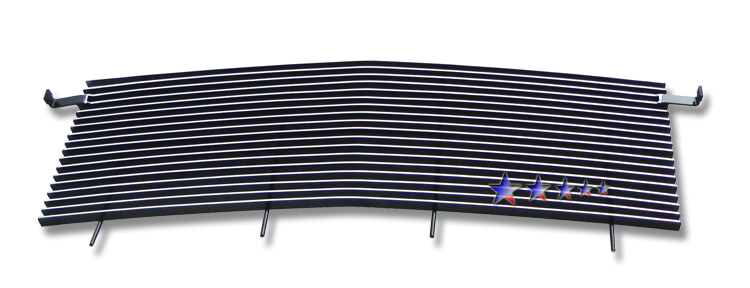 Gmc Savana Van  1996-2002 Polished Main Upper Aluminum Billet Grille