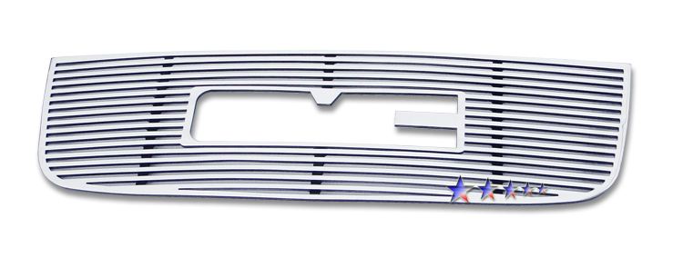 Gmc Envoy  2001-2009 Polished Main Upper Perimeter Grille
