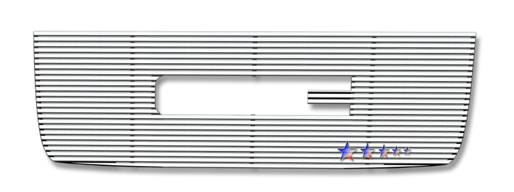 Gmc Sierra 3500 Hd 2007-2010 Polished Main Upper Perimeter Grille
