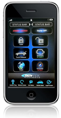 Galaxy Mobile 500 - Remote Starter, Keyless Entry and Security System (Tracking and Security with your Smart Phone)