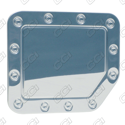 Nissan Titan 2004-2011 Chrome Fuel Door Cover (stainless Steel)