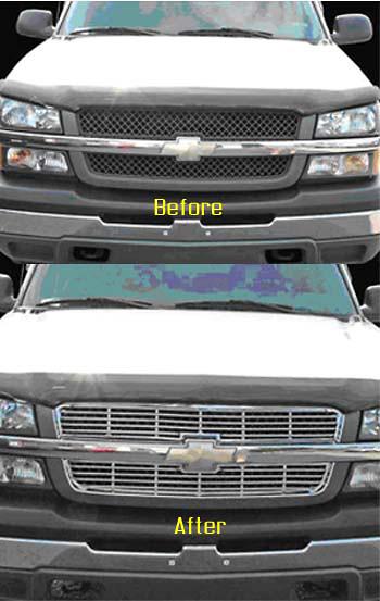 Chevrolet Silverado 03-05 Front Grill Insert