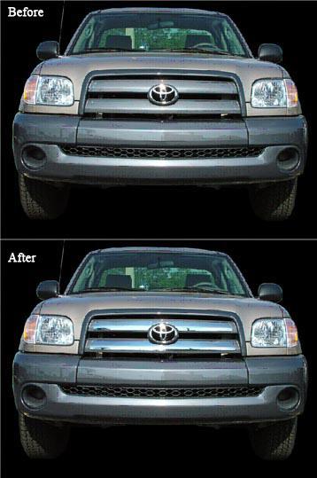 Toyota Tundra 2005-2006 Chrome Grill Insert