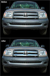 2005 Toyota Tundra  Chrome Grill Insert