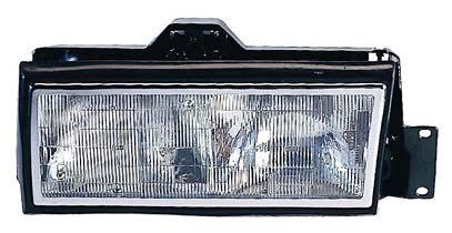 Cadillac DeVille 1989-1990, Driver Side Replacement Headlight