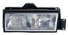 1990 Cadillac DeVille , Driver Side Replacement Headlight