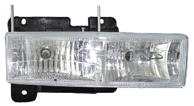 Chevrolet Silverado 88-98 Euro Crystal Headlight Conversion
