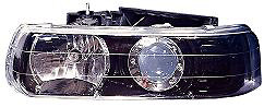 Chevrolet Silverado 99-02 Black Projector Headlights