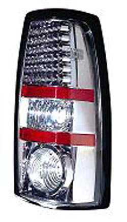 Chevrolet Silverado 99-06 Gun Metal LED Tail Lights