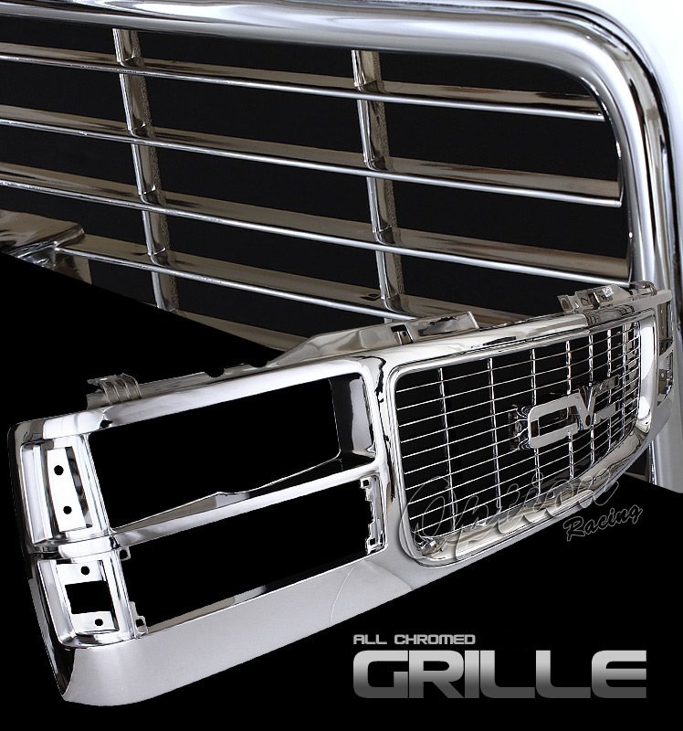 Gmc Full Size Pickup 1994-1998  Factorym Style Front Grill