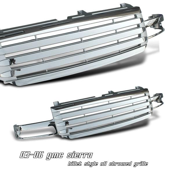 Gmc Sierra 2003-2006  Billet Style Front Grill