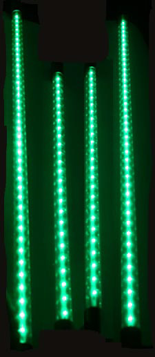 Flexible Green LED Neon Undercar Kit