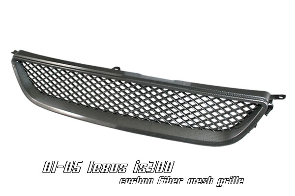 Lexus Is300 2000-2005  Carbon Fiber Front Grill