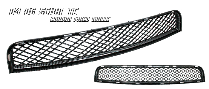 Scion Tc 2005-2007  Carbon Fiber Front Grill