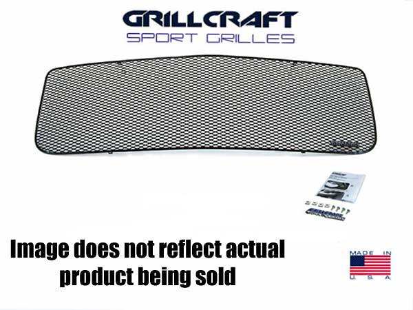 Acura RSX (Without Factory Fog Lights) 02-04 Grillcraft 3-Piece Lower Grill Kit