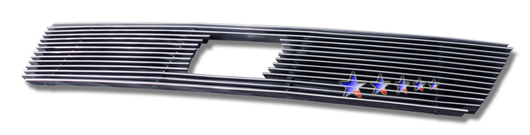 Honda Element Lx 2007-2008 Polished Main Upper Aluminum Billet Grille