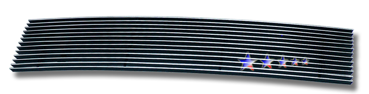 Honda Element Lx 2007-2008 Polished Lower Bumper Aluminum Billet Grille